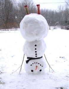 headstand-snowman